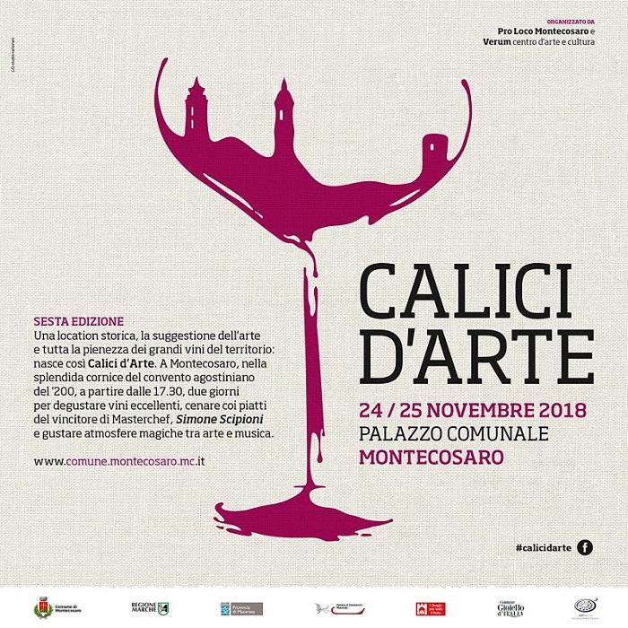 Locandina Calici d'Arte Sesta Edizione by MOCO